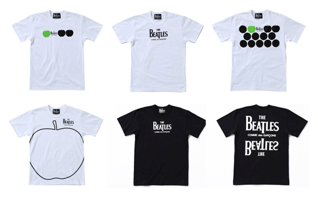 the beatles comme des garcons collection 1 The Beatles x COMME des GARCONS Collection