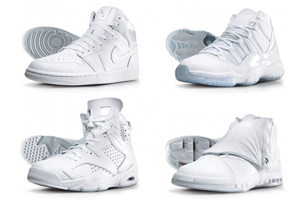 air jordan silver anniversary collection