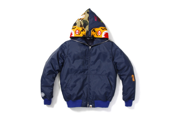 A Bathing Ape Tiger Down Jacket Hypebeast