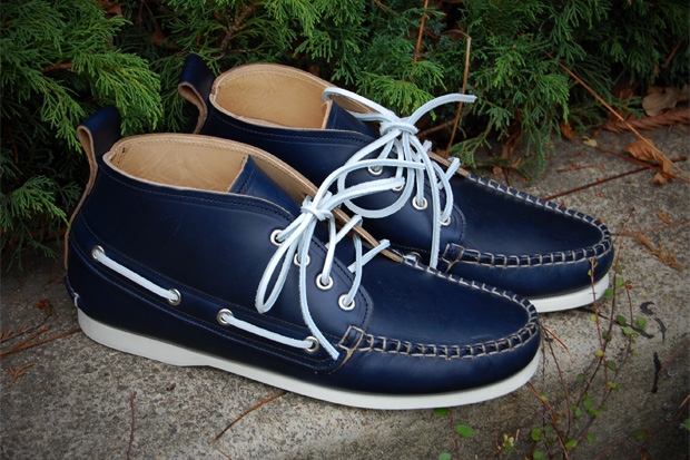 3sixteen quoddy leather deck chukka