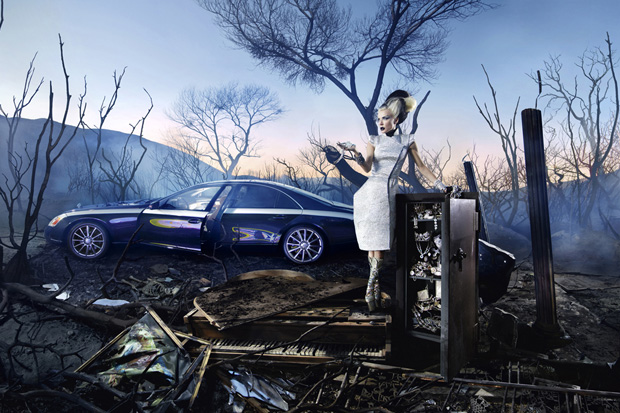 david lachapelle maybach zeppelin 2 David LaChapelle x Maybach Zeppelin
