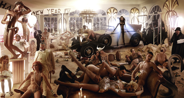 david lachapelle maybach zeppelin 8 David LaChapelle x Maybach Zeppelin