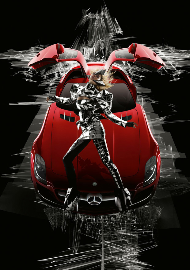 gareth pugh nick knight mercedes benz ad campaign 7 Gareth Pugh and Nick Knight for Mercedes Benz Ad Campaign