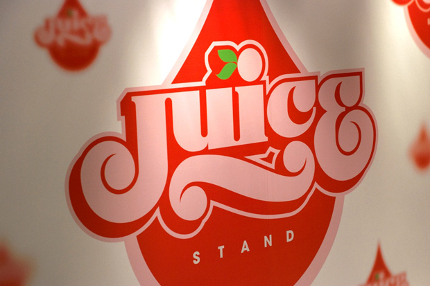 juice stand taiwan popup store