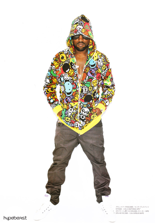 kanye west bape bathing ape spring 2010 lookbook 5 Kanye West for A Bathing Ape Spring 2010 Lookbook