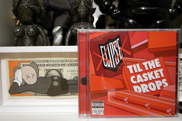 kaws-clipse-till-the-casket-drops-album-cover