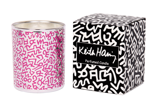 ligne-blanche-keith-haring-porcelain-candle