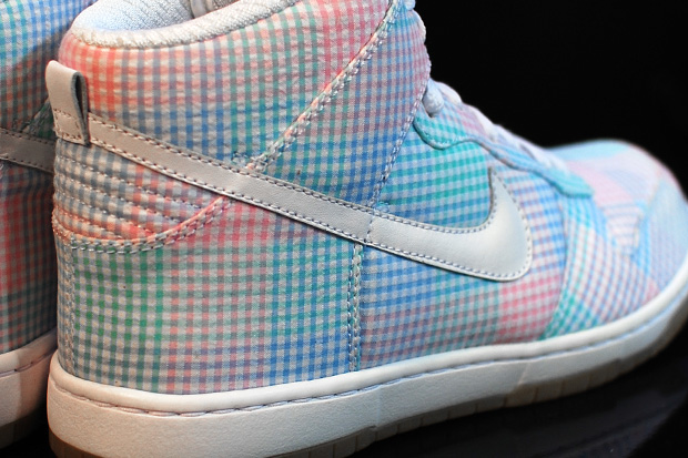 nike sportswear dunk gingham preview