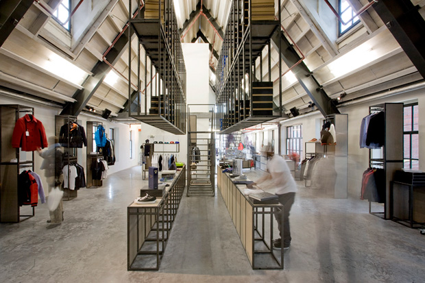 Precinct 5 amsterdam store opening a closer look hypebeast for Interieur yeezy
