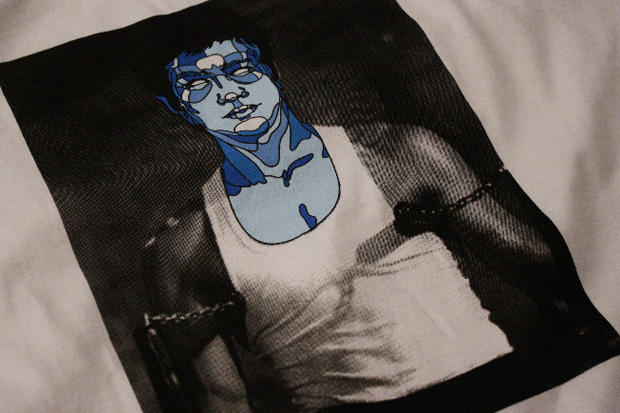 david flores purist bruce lee tee lithograph