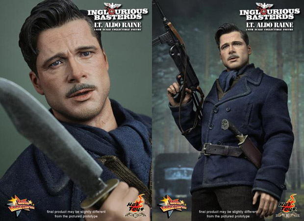 hot toys lt aldo raine figure
