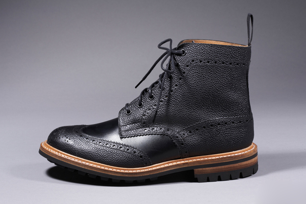 blackhist diafvine trickers brogue country boots