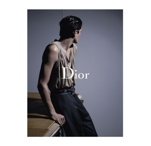 dior homme 2010 spring campaign karl lagerfeld