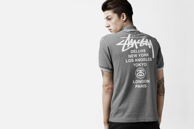 fred perry stussy deluxe 2010 blank canvas collection