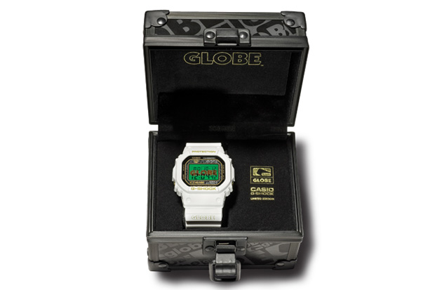 globe casio gshock collection