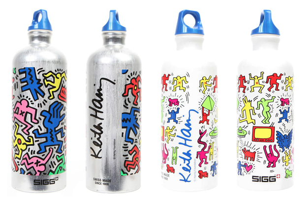 keither haring sigg rave waterbottle
