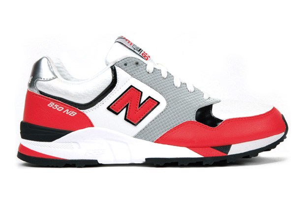 new balance 850 red grey