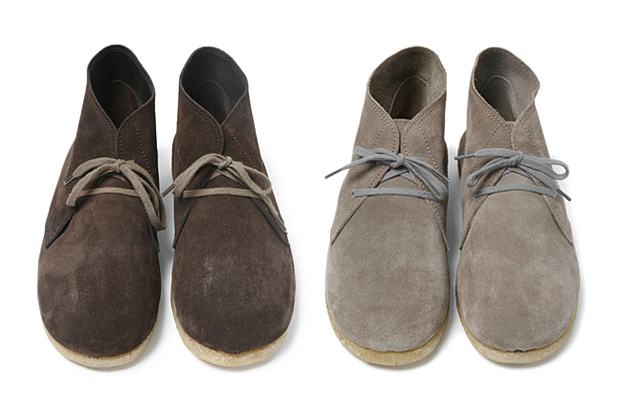 nonnative courier desert boot french cow suede