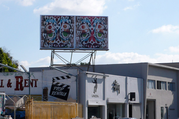 phil frost undftd fresh 2 death billboard project