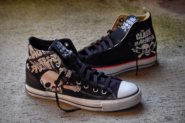 Converse drops two new colorways in its latest tribute pack to commemorate  the groundbreaking British punk band 35ca08f7d
