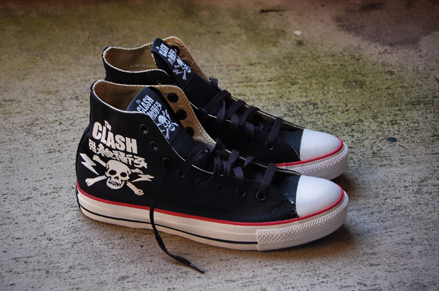 Photography  HYPEBEAST. Read Full Article. ConverseThe ClashConverse Chuck  Taylor ... 723b07af6