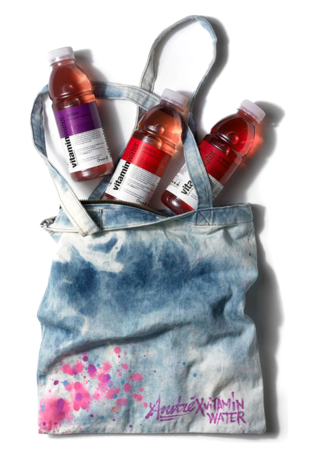 vitaminwater andre gift tote