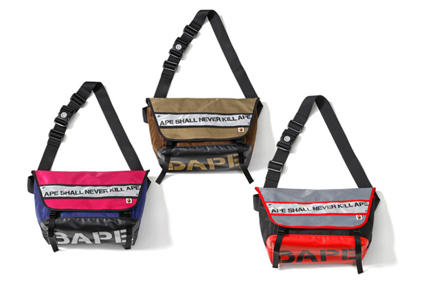 bathing ape 2010 springsummer messenger bag