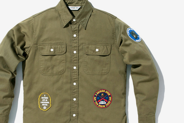 df0cb673 A Bathing Ape Patch Work & Scout Shirts | HYPEBEAST