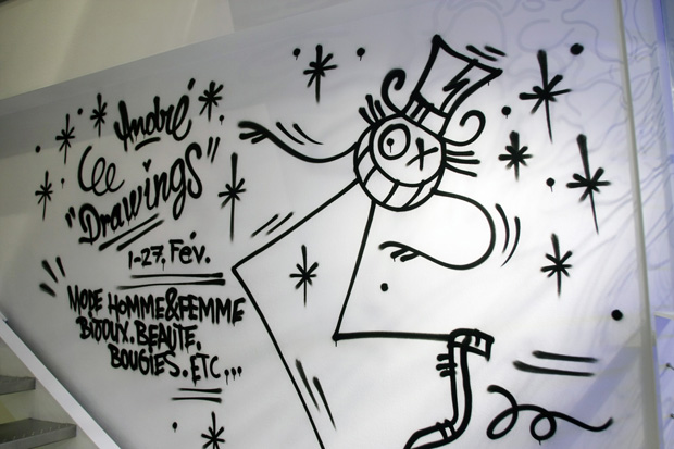 andre drawings exhibition