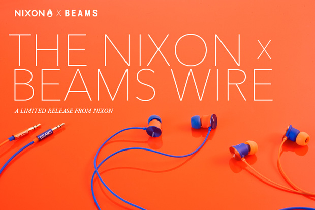 beams nixon wire earphones