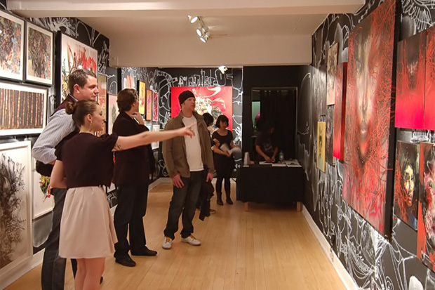 david choe character assassination exhibition recap