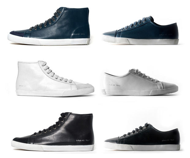 evisu common projects sneakers 2 Evisu By Common Projects Sneakers