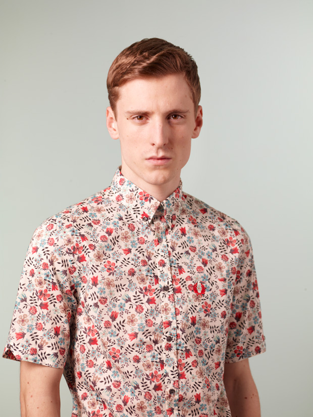fred perry liberty 2010 black canvas collection