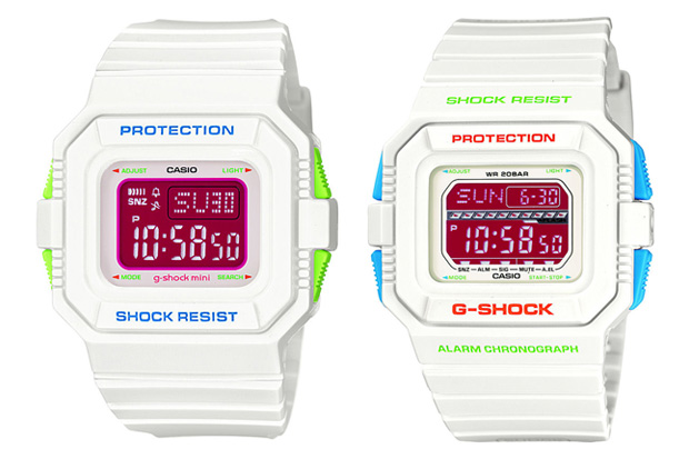 gshock 2010 valentines day precious white pack
