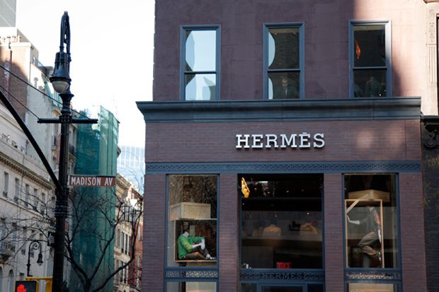 hermes nyc store opening