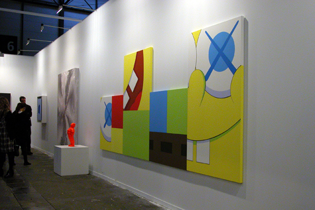 kaws installation arco madrid