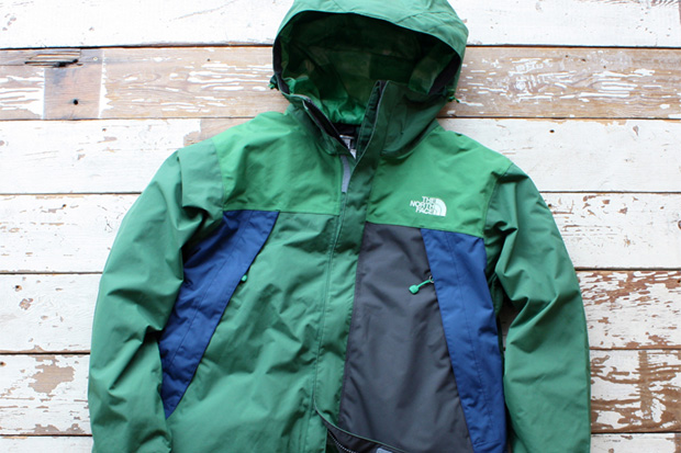nanamica north face 2010 spring roots life collection scoop jacket