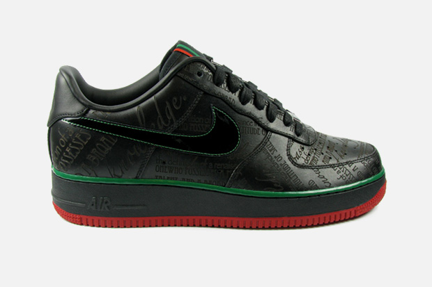 nike sportswear 2010 black history month air force 1