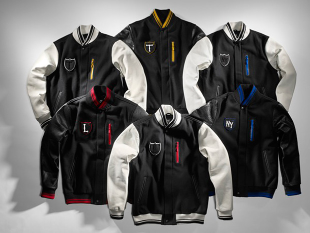 nike sportswear destroy london varsity jacket 2 Nike Sportswear Destroy London Varsity Jacket