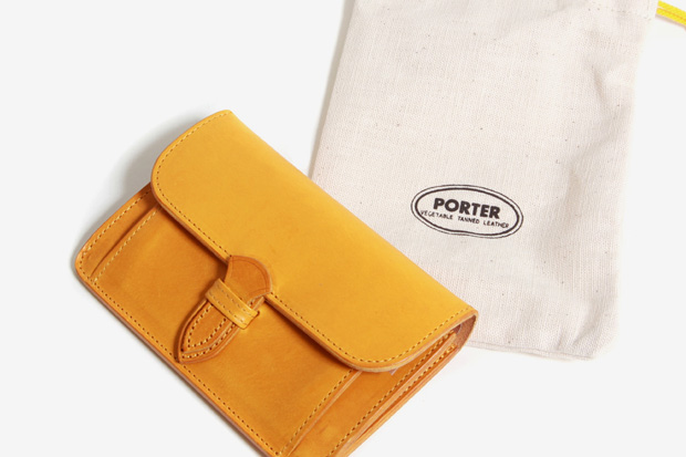 porter 2010 spring leather wallets 5 Porter 2010 Spring Vegetable Tanned Leather Wallets