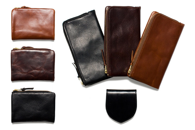 porter soak leather series wallets