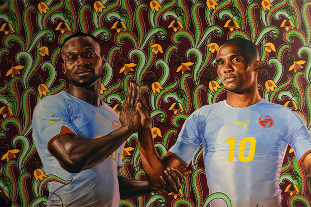 puma kehinde wiley paris exhibition recap