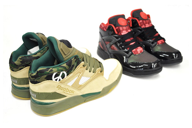reebok 2010 springsummer stanley kubrick collection pump omni lite