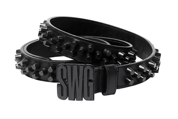 swagger 2010 springsummer collection studs belt