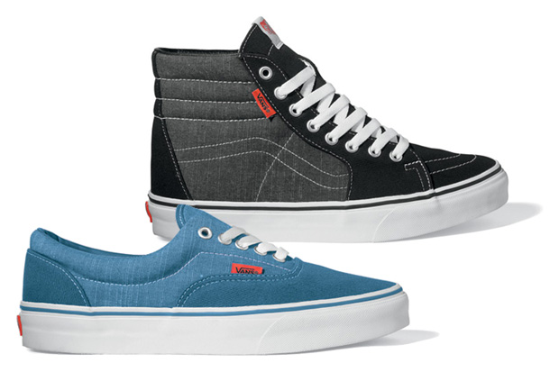 vans classics chambray pack