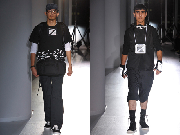 white mountaineering blk 2010 springsummer collection