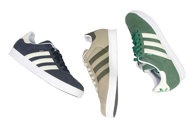 new arrival 200f4 9d593 The terrace favorite Gazelle from adidas Originals ...