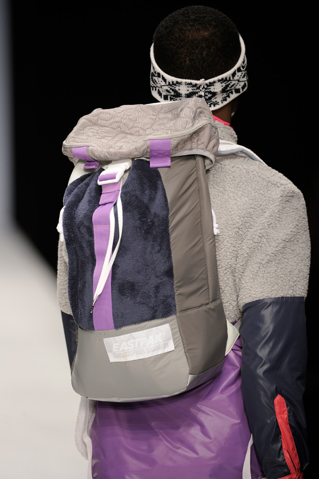 christopher shannon eastpak 2010 fallwinter collection