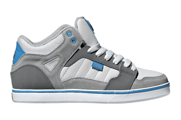 dvs huf mid throwback greyblue