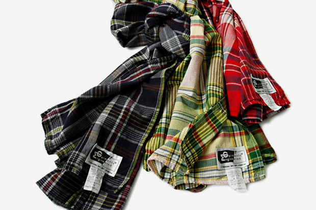 engineered garments 2010 springsummer scarf collection